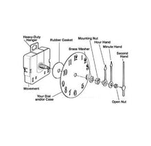 Ajanta mfg. Quartz Clock Movement (DIY) - genuinebattery.com