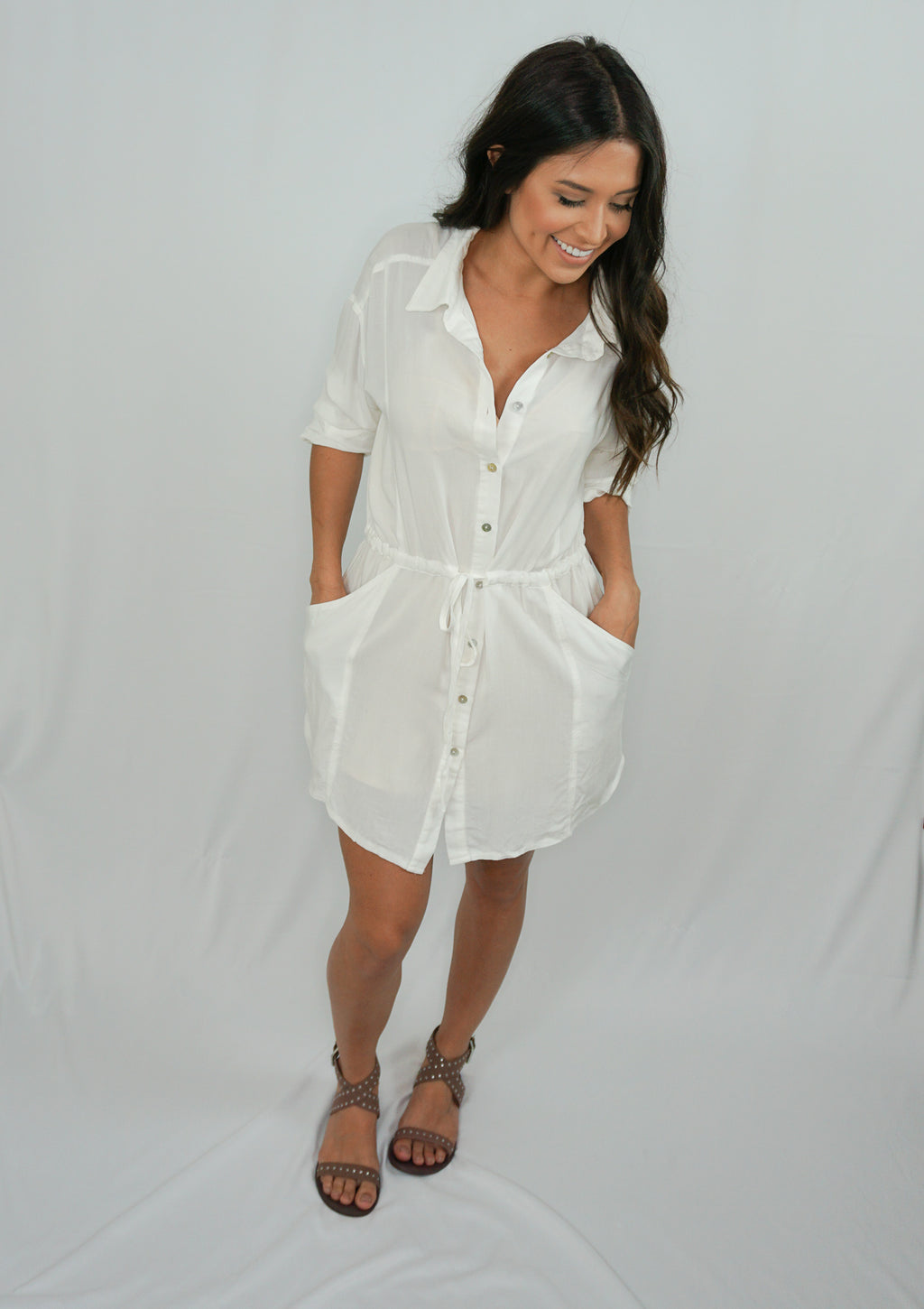 All Buttoned Up Dress