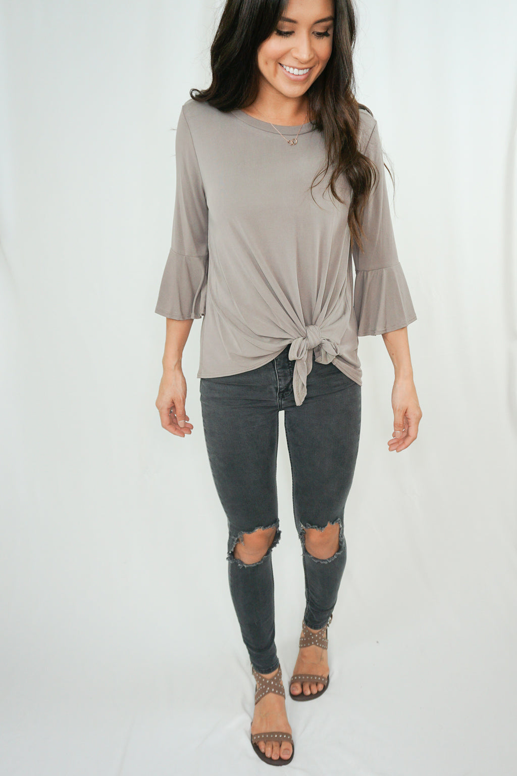 Southern Belle Sleeve Top