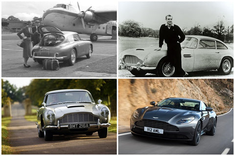 Aston Martin DB over the years