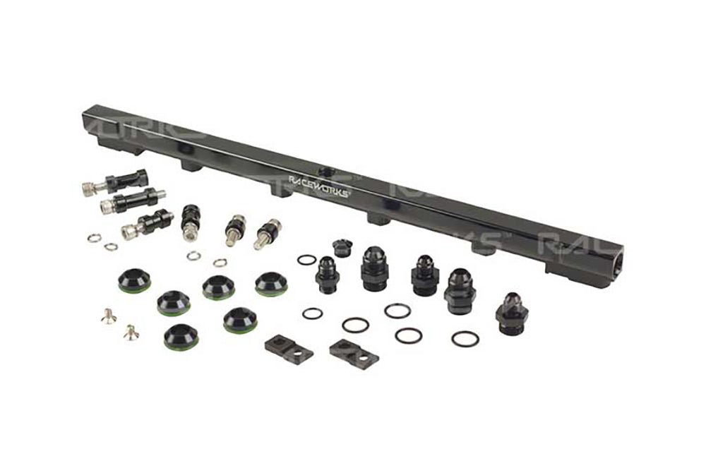 Raceworks Turbosmart Nissan Skyline R33 & Stagea C34 Series 1 RB25DET (2.5L) Rail Kit