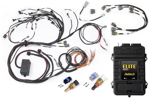 Haltech Elite 2500 + Terminated Harness Kit for Nissan RB Twin Cam With Series 2 (late) ignition type sub harness