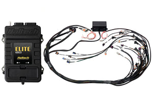 Haltech Elite 2500 + GM GEN III LS1 & LS6 non DBW Terminated Harness Kit