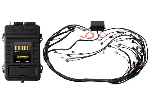 Haltech Elite 2500 + GM GEN IV LSx (LS2/LS3 etc) non DBW Terminated Harness Kit