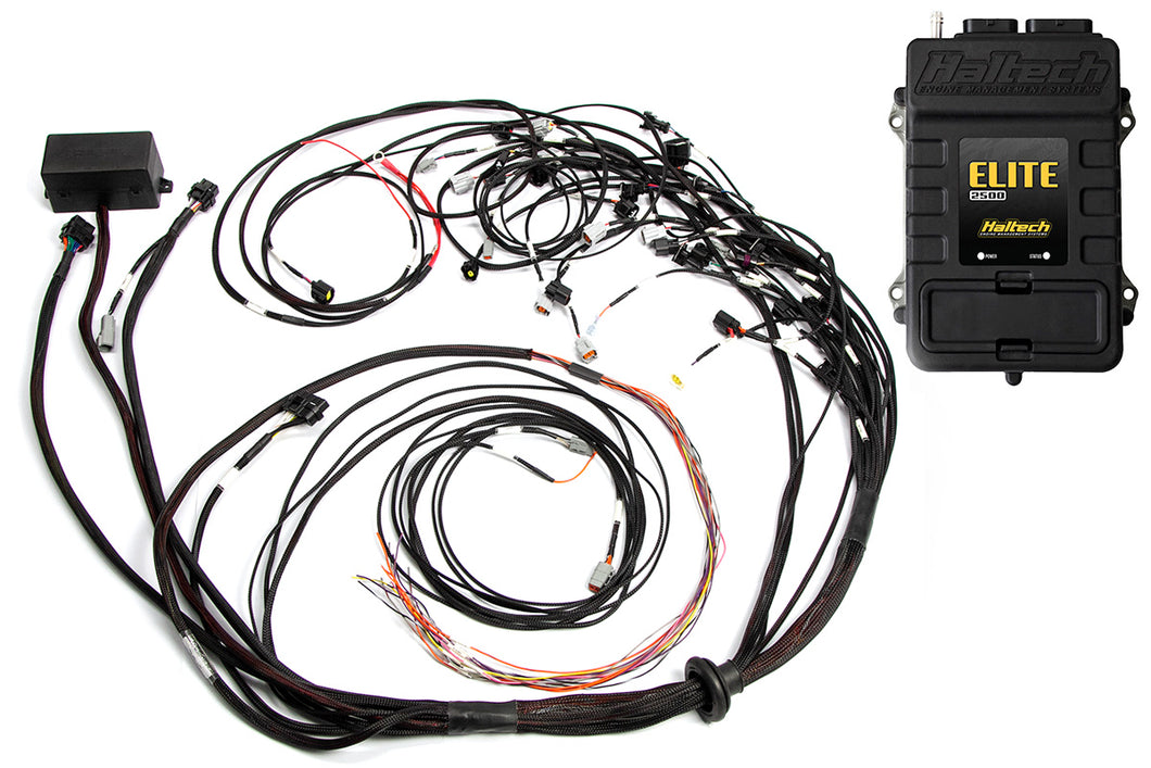 Haltech Elite 2500 + Terminated Harness Kit For Ford Falcon FG Barra 4.0L I6