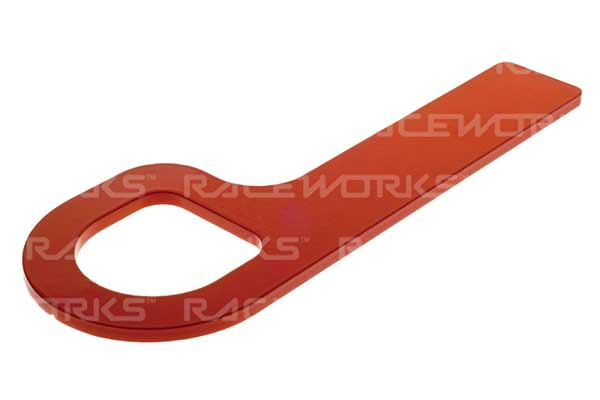 Raceworks Cams Spec Tow Hook Red