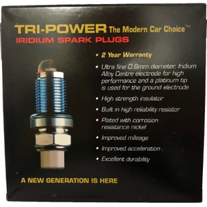 Tri-Power Iridium Spark Plug TPX004