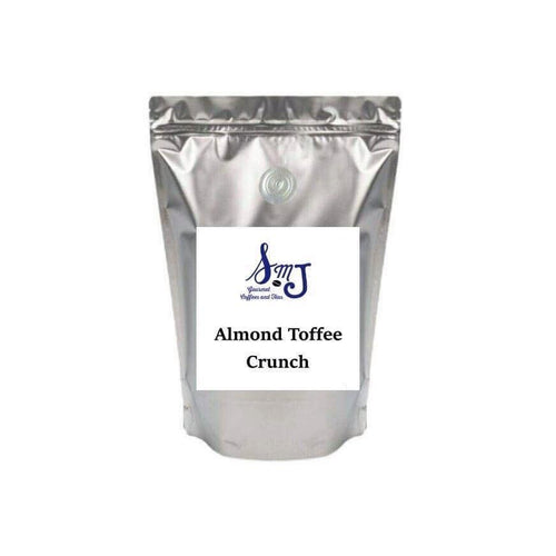 SMJ 1 Lb. Coffee Almond Toffee Crunch Coffee