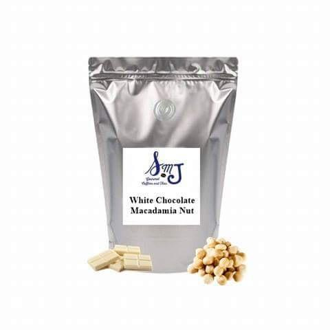 SMJ 1 Lb. Coffee White Chocolate Macadamia Nut Coffee