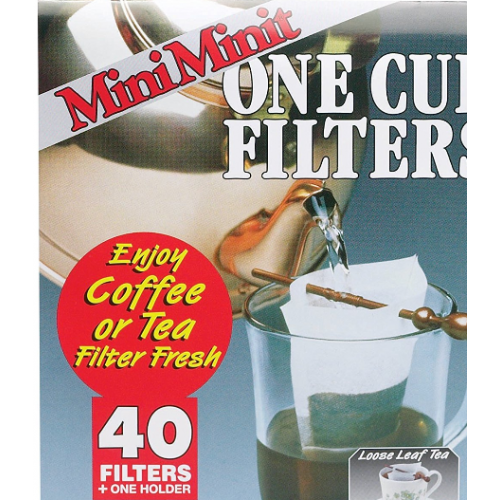 SMJ Accessories Mini Minit 40 ct Filters