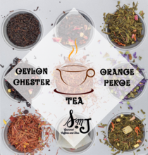 SMJ Loose Leaf Tea Ceylon Chester Orange Pekoe Tea
