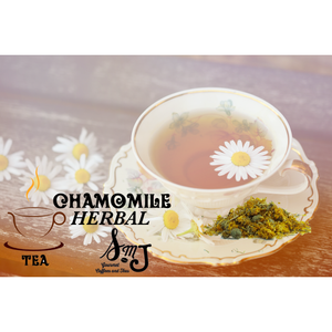 SMJ Loose Leaf Tea Chamomile Herbal Tea