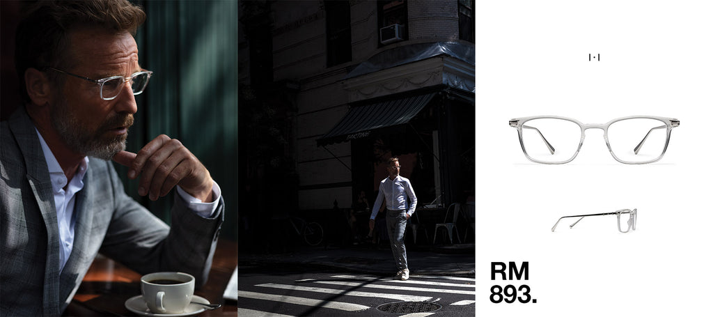 Rainer - West 11th St. (cafe) - New York, NY - Wearing RM 893