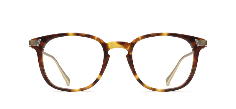RMNYC 885 in matte mottled tortoise / antique gold 358m