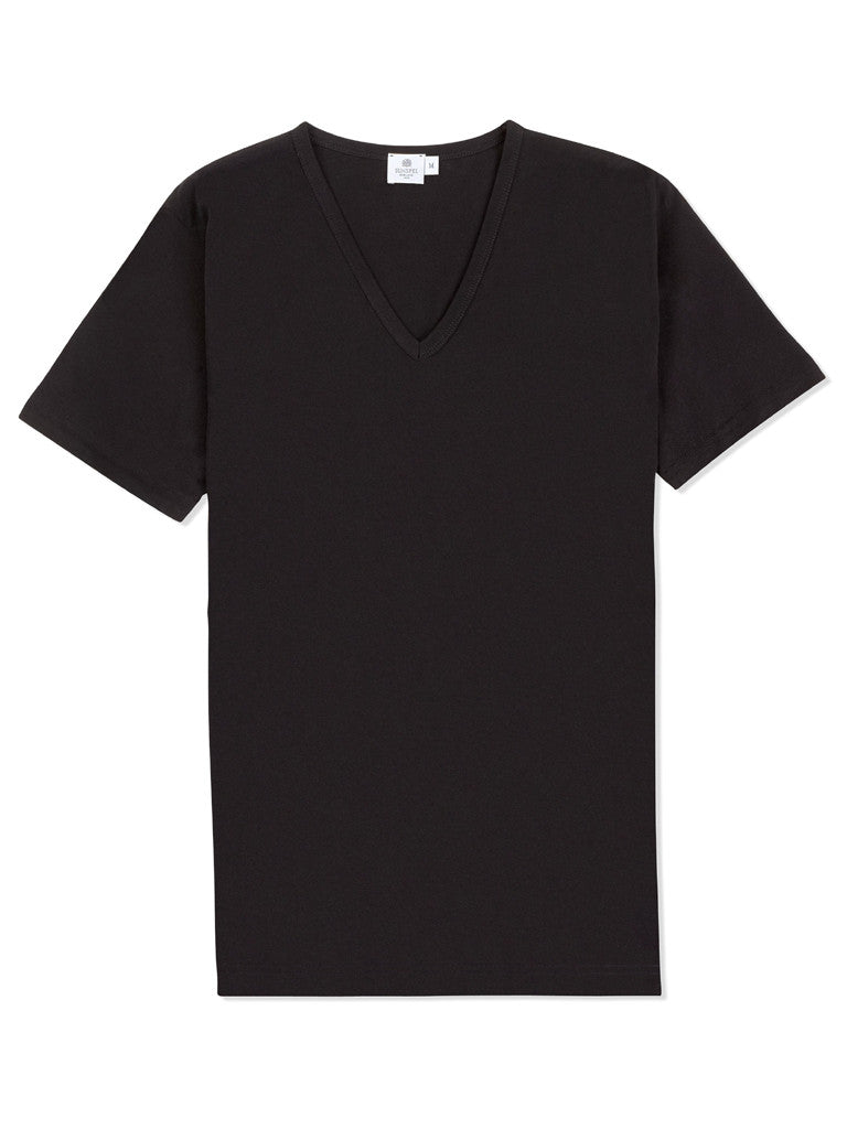 Sunspel V Neck T-Shirts