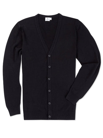 Sunspel Long Sleeve v Neck Cardigan