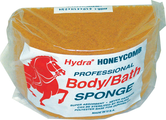 Hydra Honeycomb Professional Body Sponge For Horse