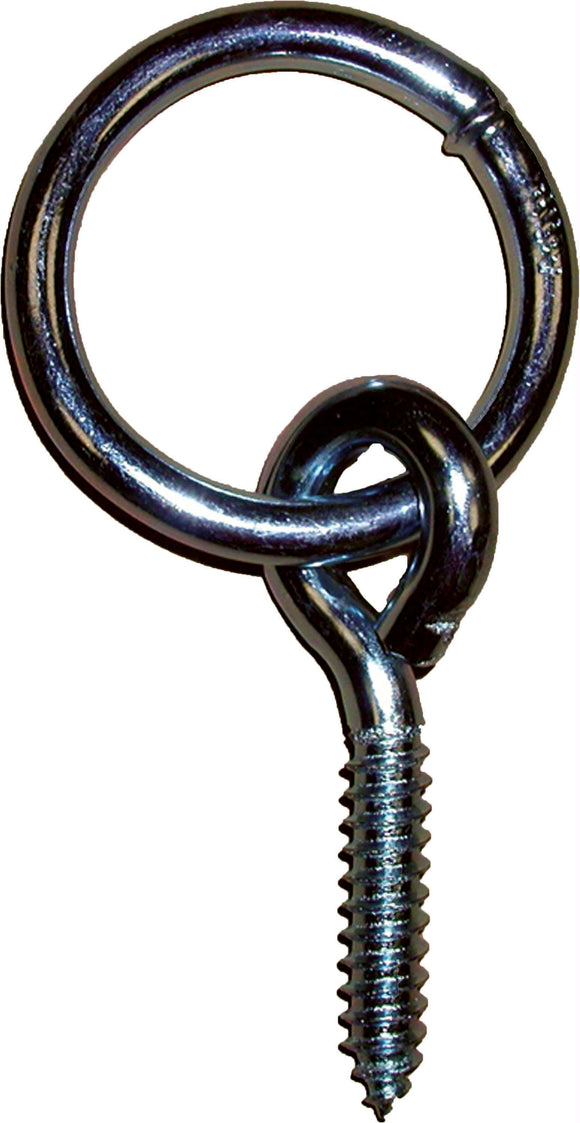 Hitching Ring With Screw Eye