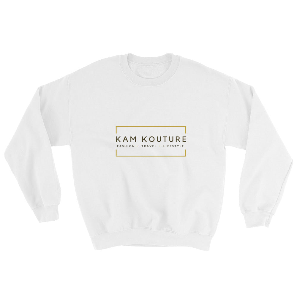 White Unisex Signature Sweatshirt