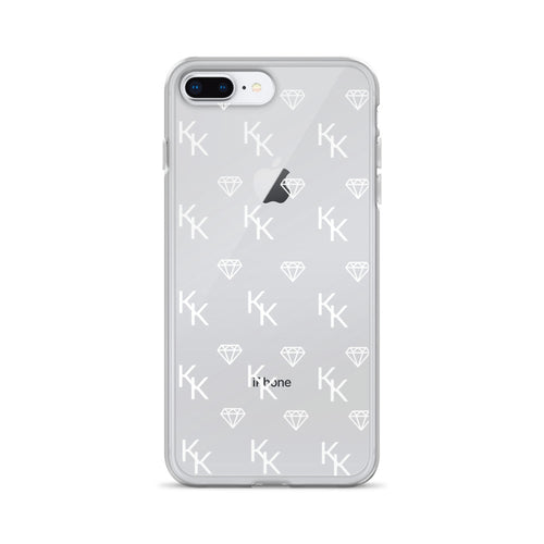 Clear Monogram iPhone Case
