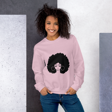 "Load image into Gallery viewer, ""Big Hair Don't Care"" Women's Sweatshirt"