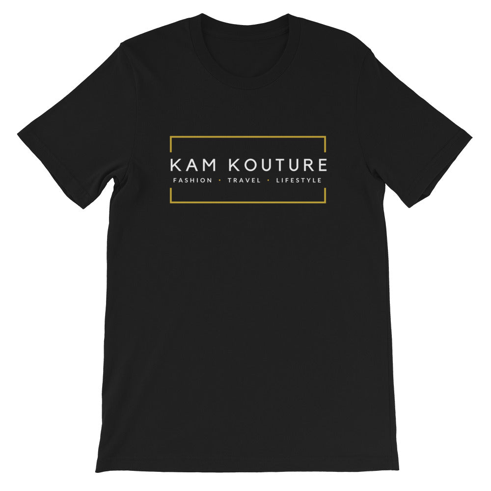 Black Short-Sleeve Unisex Signature Tee