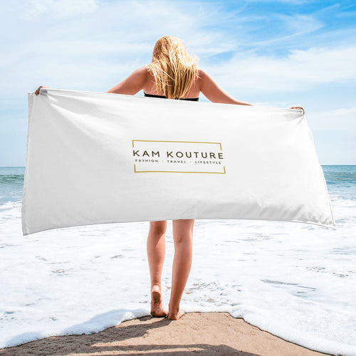 Signature Beach Towel
