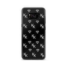 Load image into Gallery viewer, Black Monogram Samsung Case