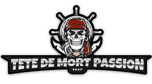 logo tete de mort passion shop