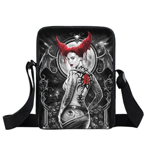 Sacoche tete de mort infernal | Tête De Mort Passion Shop