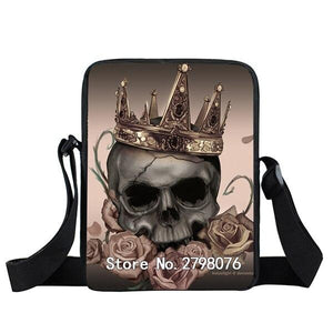 Sacoche tete de mort royal | Tête De Mort Passion Shop