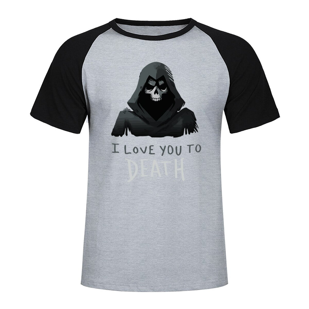 T-shirt tête de mort i love you to death | Tête De Mort Passion Shop