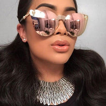 Charger l'image dans la galerie, REALSTAR Brand Metal Skull Sunglasses Men Luxury Mirror Designer Sun Glasses Women 2018 Retro Eyewear Oculos Vintage Shades S184 | Tête De Mort Passion Shop