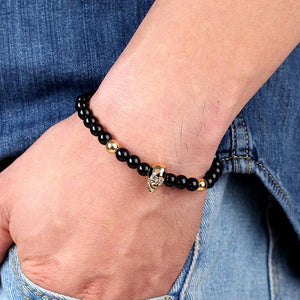Bracelet Tête de mort fashion extensible | Tête De Mort Passion Shop