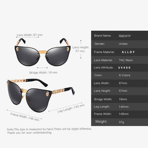 RBEWTP 2019 Fashion Women Gothic Sunglasses Skull Frame Metal Temple High Quality Gold Sun glasses Oculos De Sol Feminino Luxury | Tête De Mort Passion Shop