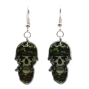 Halloween Ghost Festival Party Zombie Ghost Head Drops Funny Skull Earrings Party Unisex Creative Accessories | Tête De Mort Passion Shop