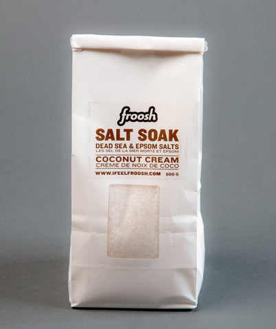 Coconut Cream Salt Soak