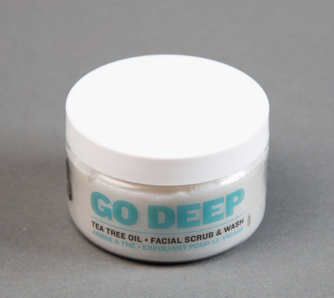 Go Deep Facial Wash & Scrub (125ml)