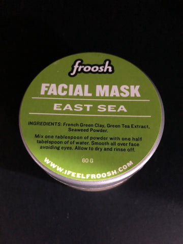 EAST SEA - Green Tea & Seaweed Facial Mask