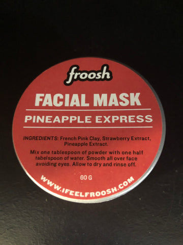 PINEAPPLE EXPRESS - Strawberry Pineapple Facial Mask