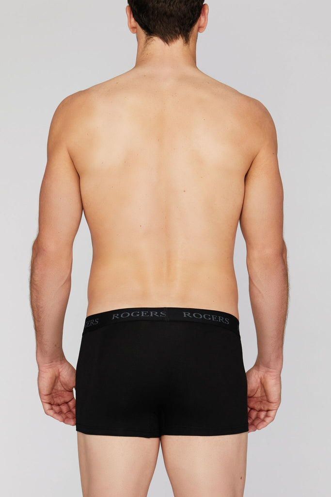 Three-Pack Modal Trunks – Black Band*
