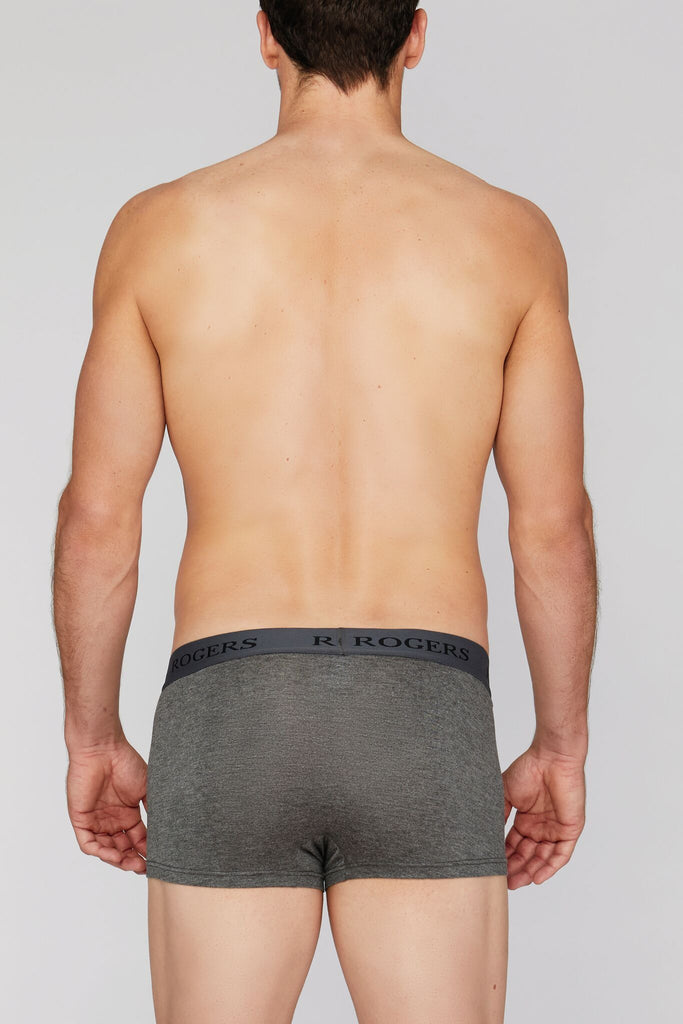 Three-Pack Modal Trunks – Grey Band*