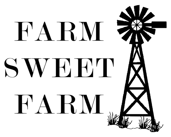 Farm Sweet Farm 8x10 DIGITAL FILE ONLY