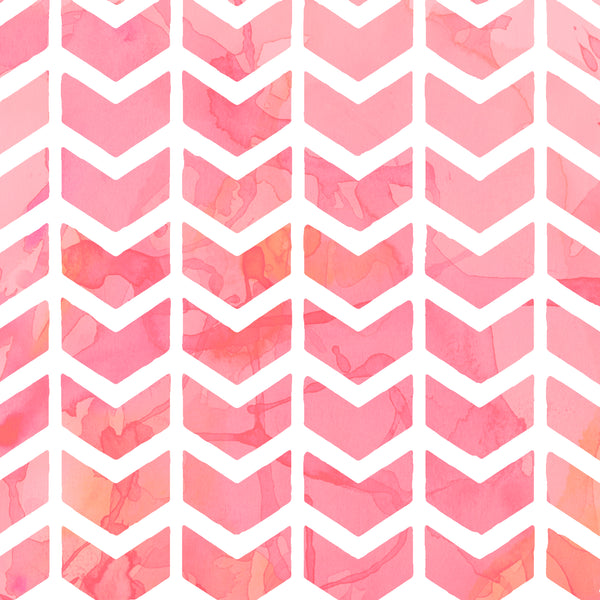 Pink distressed herringbone 8x10 sublimated hardboard