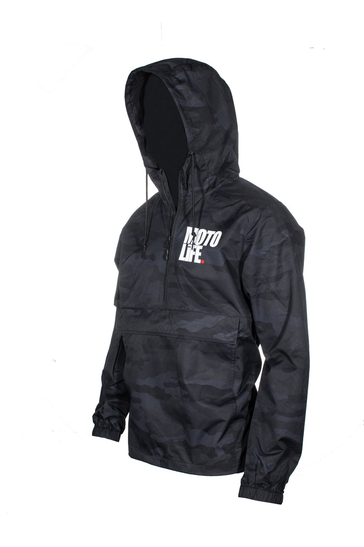 Wet Ride Jacket Anorak Camo