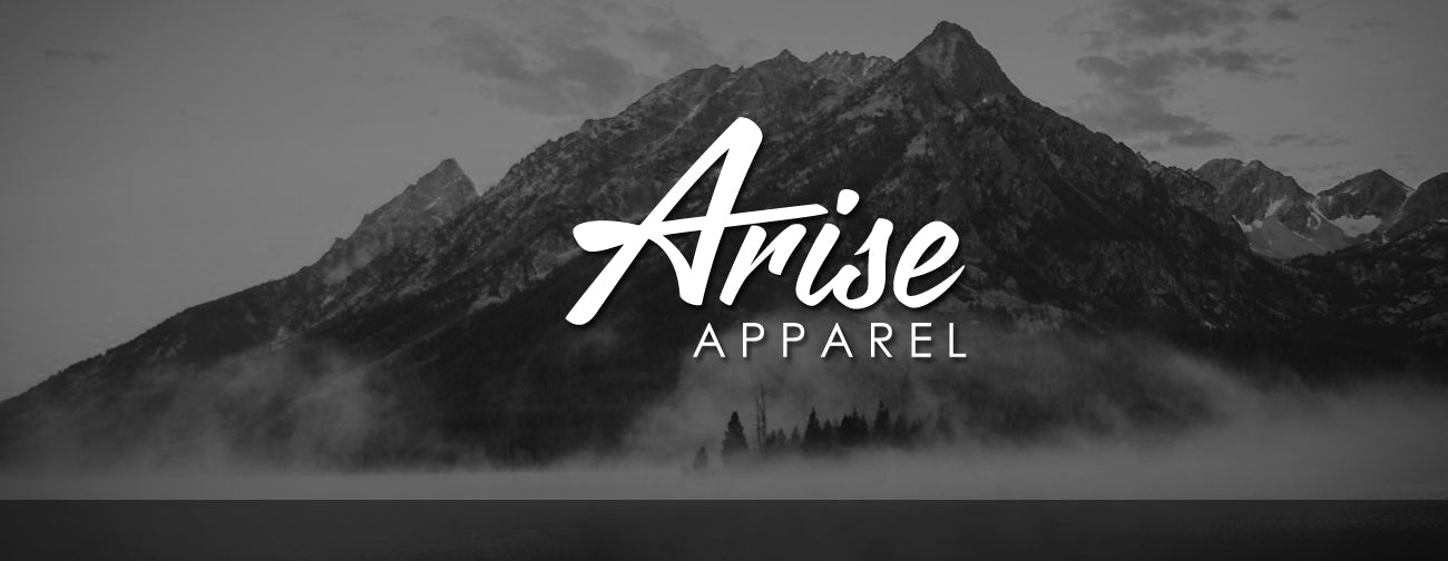 arise apparel clothing company t-shirt