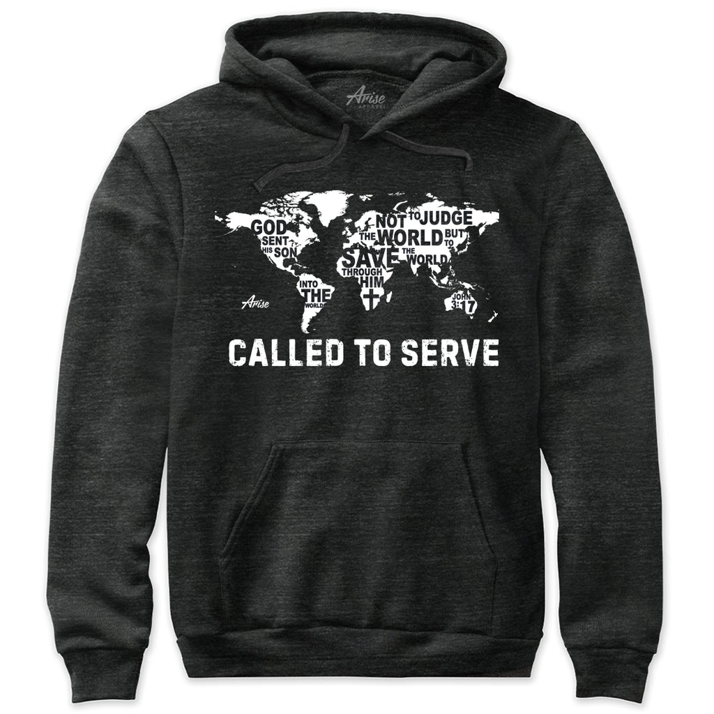 Called To Serve Missionary Christian Hoodie Sweatshirt
