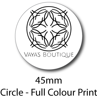 Vaya's Boutique - Sticker Sheet (Pattern)