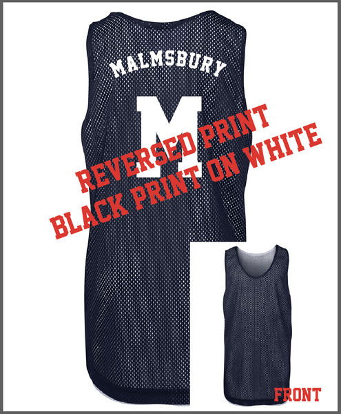 Parkville College - Basketball Reversible Training Tops