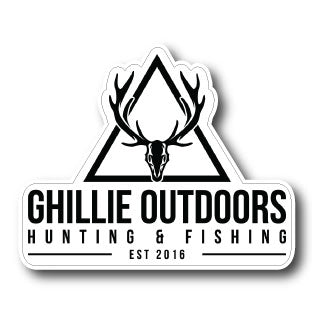 Ghillie Outdoors - Die-Cut Stickers